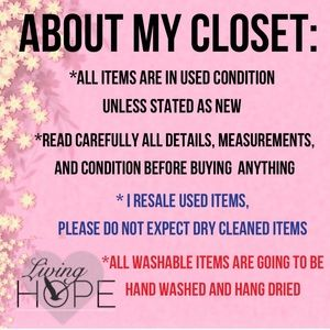 Other - Closet Guidelines